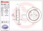 Гальмівний диск BREMBO 08.A331.10