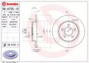 Гальмівний диск BREMBO 08.A725.10