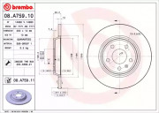 Тормозной диск BREMBO 08.A759.11