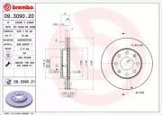 Гальмівний диск BREMBO 09.3090.20
