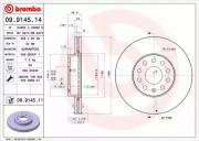 Тормозной диск BREMBO 09.9145.11