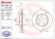 Гальмівний диск BREMBO 09.A148.11