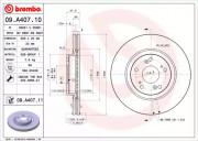 Тормозной диск BREMBO 09.A407.10