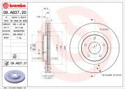 Гальмівний диск BREMBO 09.A637.21