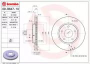 Тормозной диск BREMBO 09.B647.10
