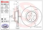 Тормозной диск BREMBO 09.N265.21