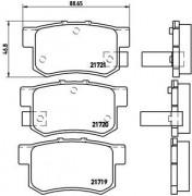 Тормозные колодки BREMBO P28022