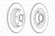 Тормозной диск FERODO DDF1731-1