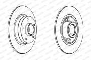 Гальмівний диск FERODO DDF1732-1