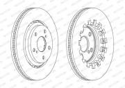 Гальмівний диск FERODO DDF2268C