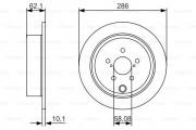 Тормозной диск BOSCH 0 986 479 A10