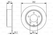 Тормозной диск BOSCH 0 986 479 R05