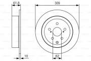 Тормозной диск BOSCH 0 986 479 T04