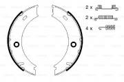 Bosch Барабанные тормозные колодки BOSCH 0986487611