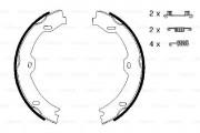 Bosch Барабанные тормозные колодки BOSCH 0986487666