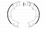 Bosch Барабанные тормозные колодки BOSCH 0986487683