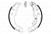 Bosch Барабанные тормозные колодки BOSCH 0986487721