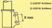 Амортизатор KYB 333743