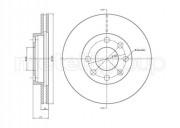 Гальмівний диск METELLI 23-0096