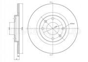 Гальмівний диск METELLI 23-0097