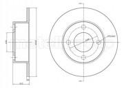 Тормозной диск METELLI 23-0185