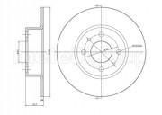 Гальмівний диск METELLI 23-0193C