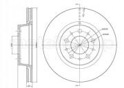 Тормозной диск METELLI 23-0201