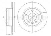 Тормозной диск METELLI 23-0229C