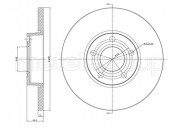Тормозной диск METELLI 23-0263