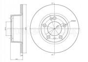 Гальмівний диск METELLI 23-0335