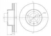 Гальмівний диск METELLI 23-0532C