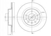 Гальмівний диск METELLI 23-0609C