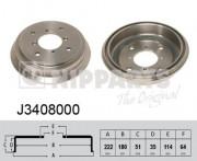 Тормозной барабан NIPPARTS J3408000