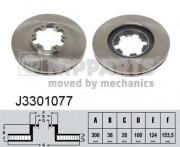 Тормозной диск NIPPARTS J3301077