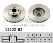 Тормозной диск NIPPARTS N3302163
