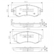 Тормозные колодки NIPPARTS J3600401