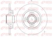 Тормозной диск REMSA 61058.00