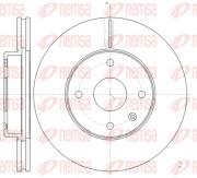Тормозной диск REMSA 61181.10