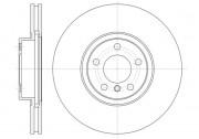 Тормозной диск REMSA 61335.10