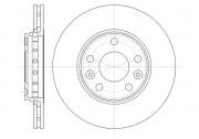 Тормозной диск REMSA 61346.10