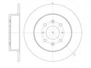 Тормозной диск REMSA 61352.00