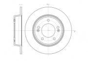 Тормозной диск REMSA 61435.00