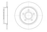 Тормозной диск REMSA 61503.00