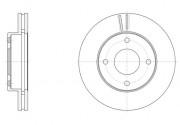 Гальмівний диск REMSA 61532.10