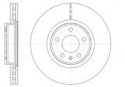 Тормозной диск REMSA 61543.10