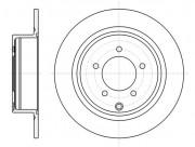 Тормозной диск REMSA 61554.00