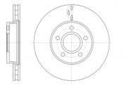 Тормозной диск REMSA 61560.10