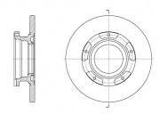 Тормозной диск REMSA 61564.00