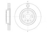 Тормозной диск REMSA 61576.10