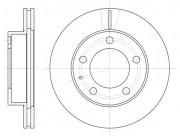 Тормозной диск REMSA 6203.10